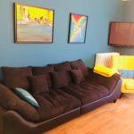 salon salle à manger suite cinéma appartspa21 Dijon